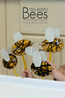 http://www.housingaforest.com/yarn-wrapped-bee-craft/