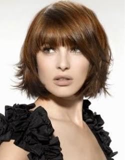 Diari Rara Gaya Rambut Pendek Untuk Wajah Panjang - Gaya rambut pendek depan