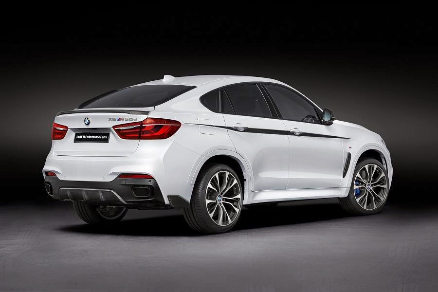 BMW X6 M50d With M Performance Parts (2015) Rear Side