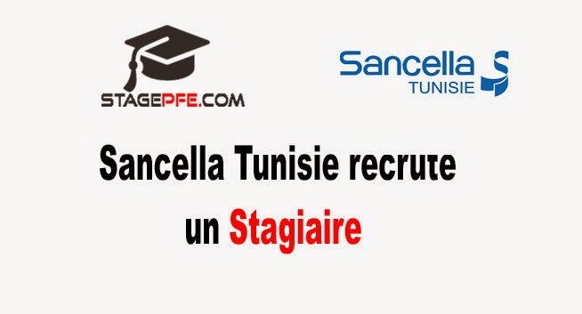 sancella tunisie recrute stagiaire en marketing