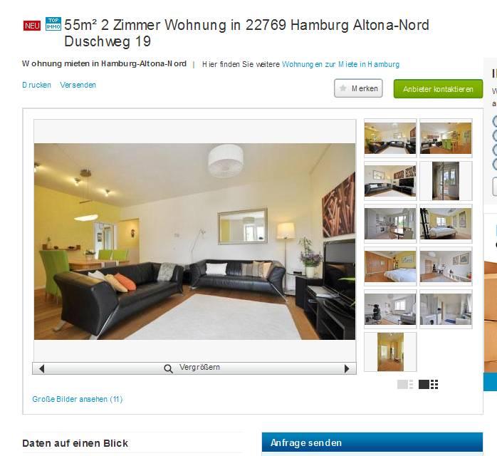 Informationen über Wohnungsbetrug