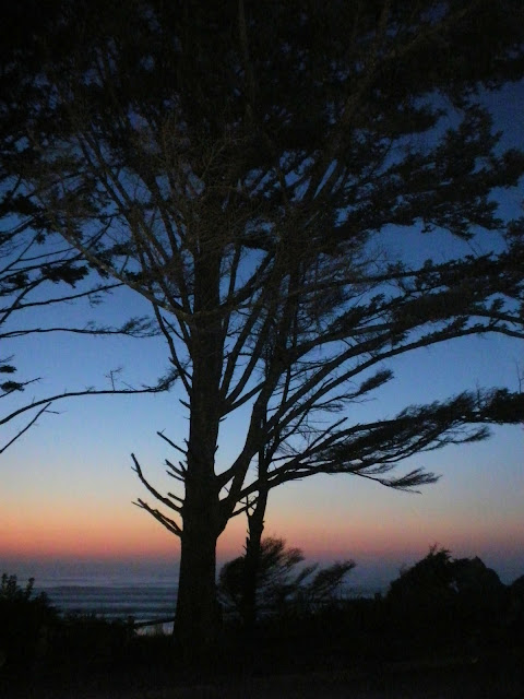 photo of sunset over the Pacific Ocean by Nancy Zavada
