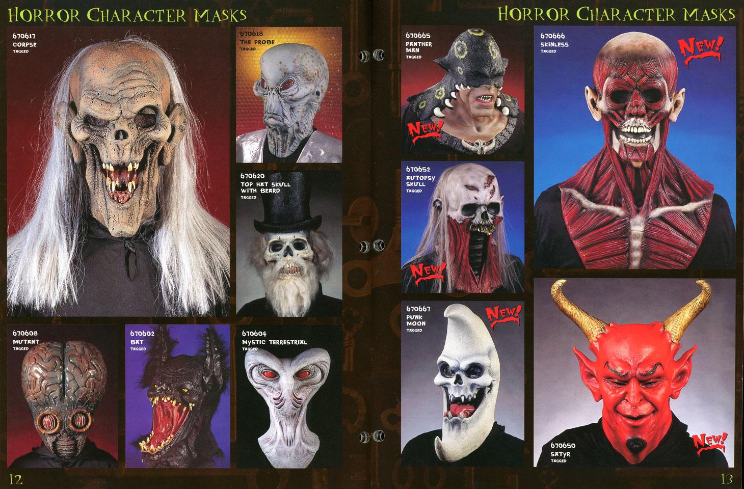 Masks gone batty