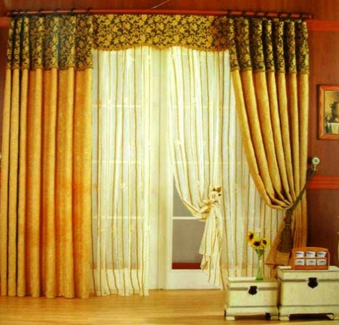 New home designs latest modern homes curtains designs ideas - Latest interior curtain design ...