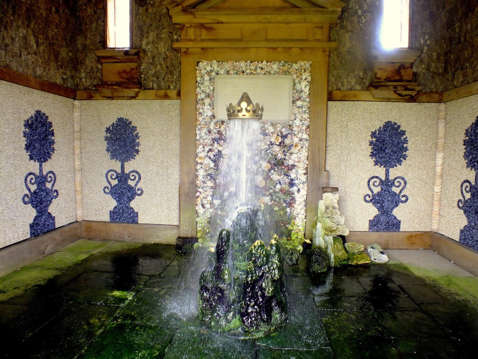 fontanna, muszelkowa komnata