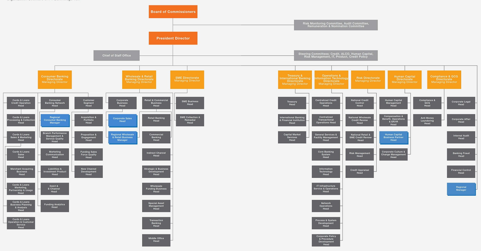 organisational structure of allied bank limited