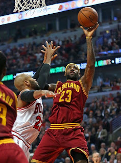 cleveland cavaliers vs chicago bulls in pics