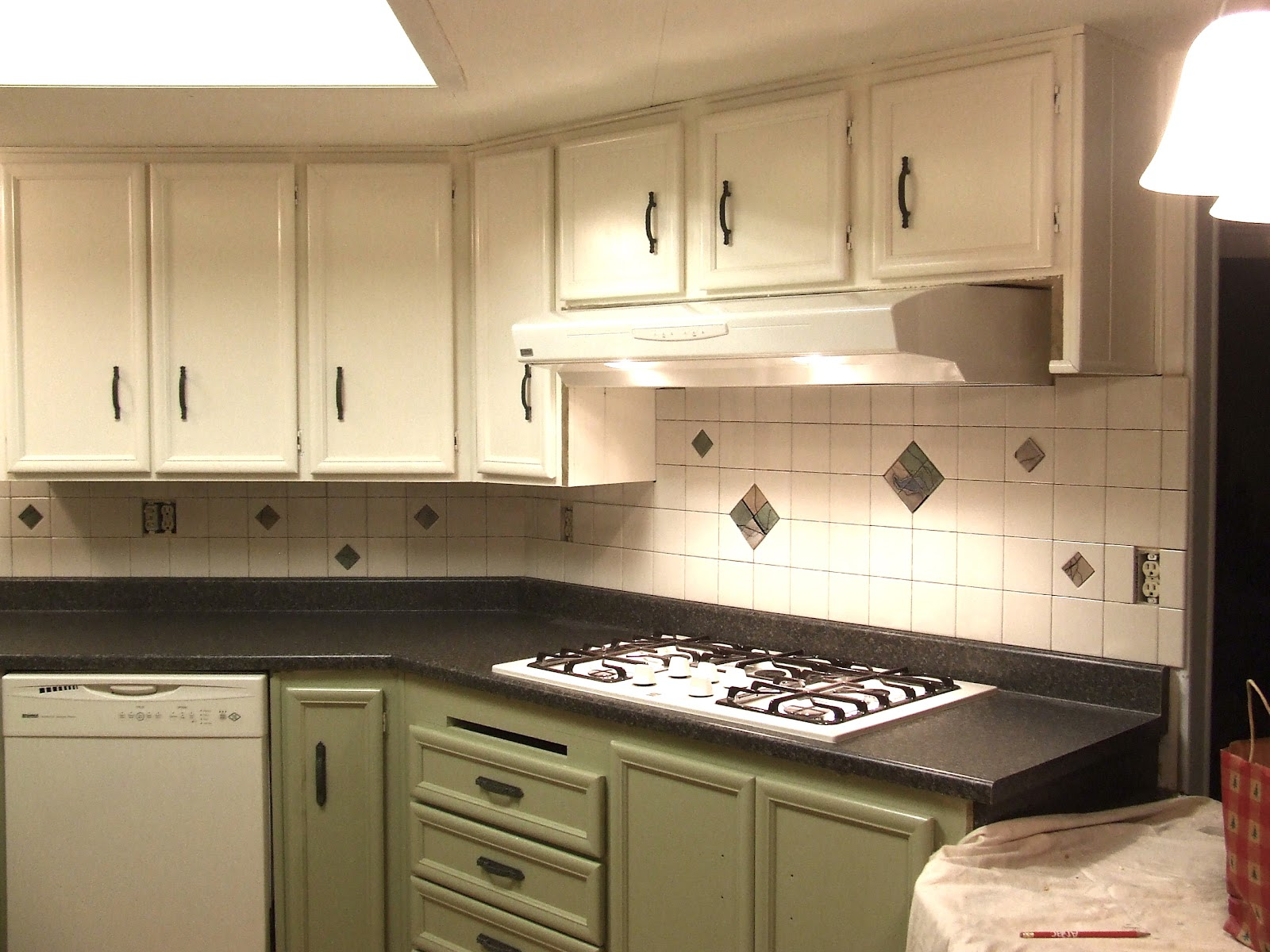 All three of these kitchens were done on a, shall we say, tight budget