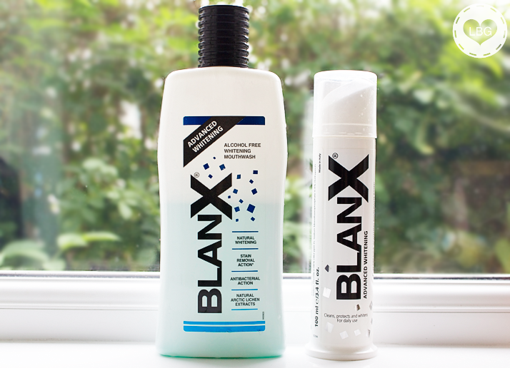 BlanX Advanced Whitening Toothpaste (Before & After)