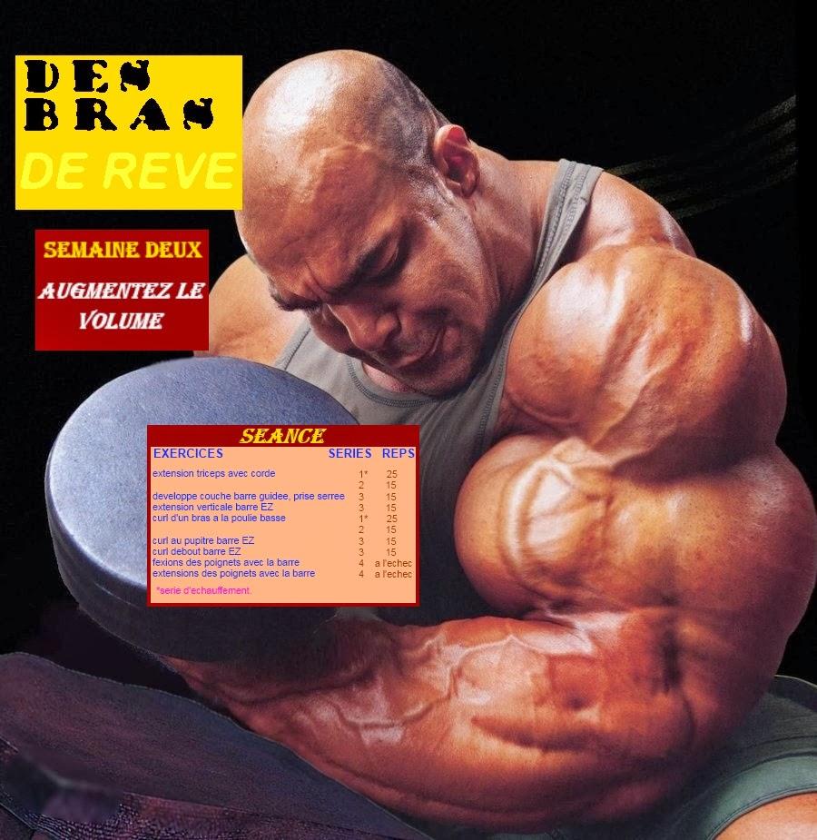 bodybuilding-univers-muscle: Des Bras De Rêve
