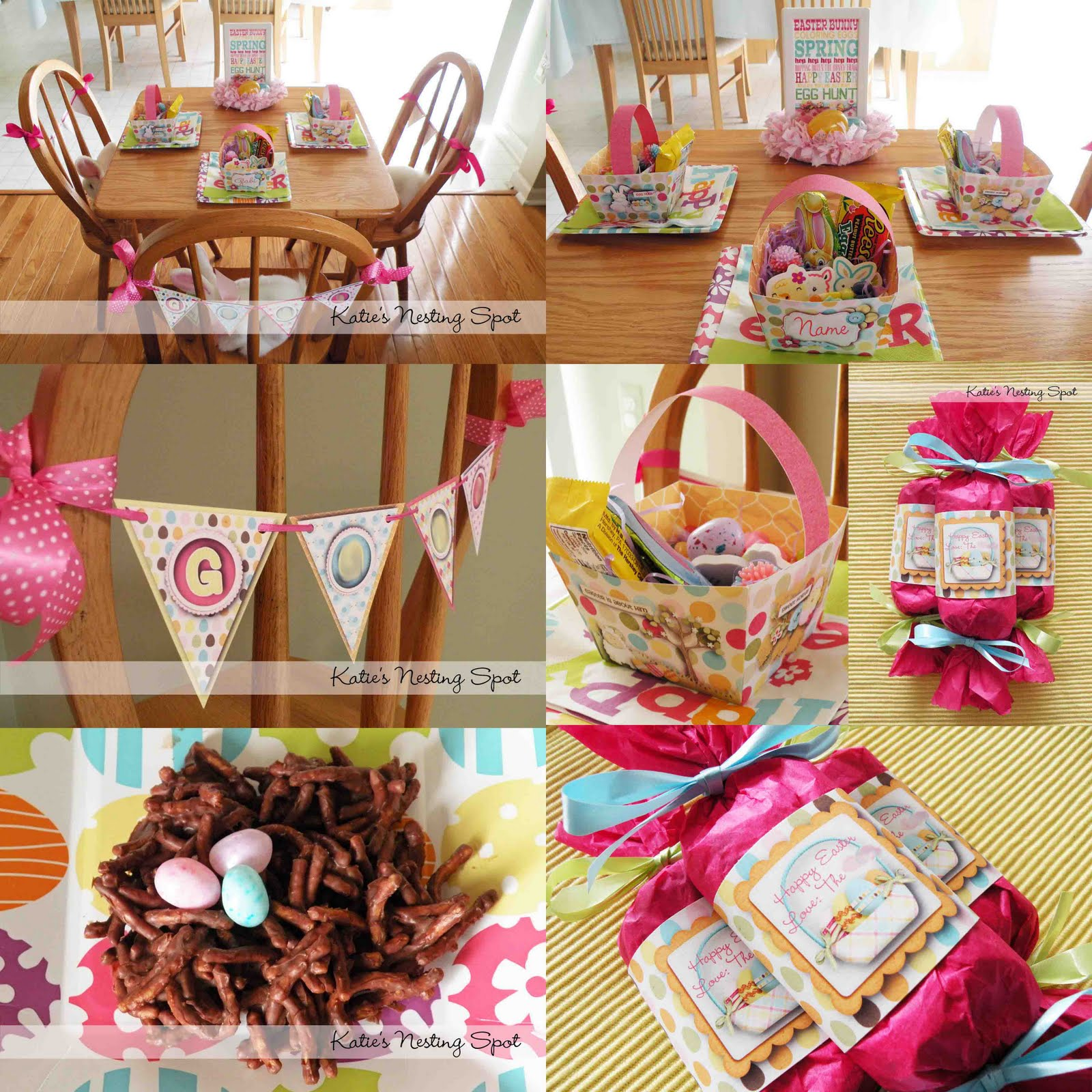 Easter basket decoration ideas recycling paper easter baskets awesome spring into easter decorations with easter basket decoration ideas negle Choice Image