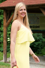 This yellow maxi dress