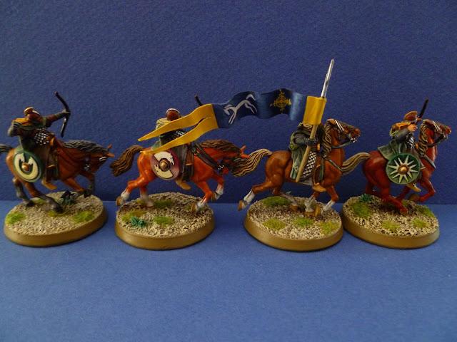 Demi Eored (Bannière et archers)