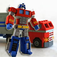Galerías Frikis: Transformers de 1ª generación hechos con Lego