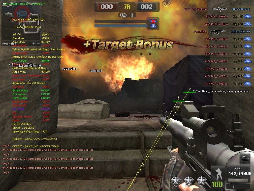 Cheat Point Blank 30 Januari 2015 VIP [UPDATE 3 VERSI SPESIAL+DLL GRATIS]