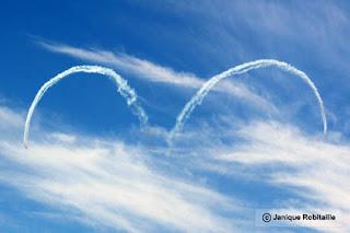 spectacle aerien avions snowbirds