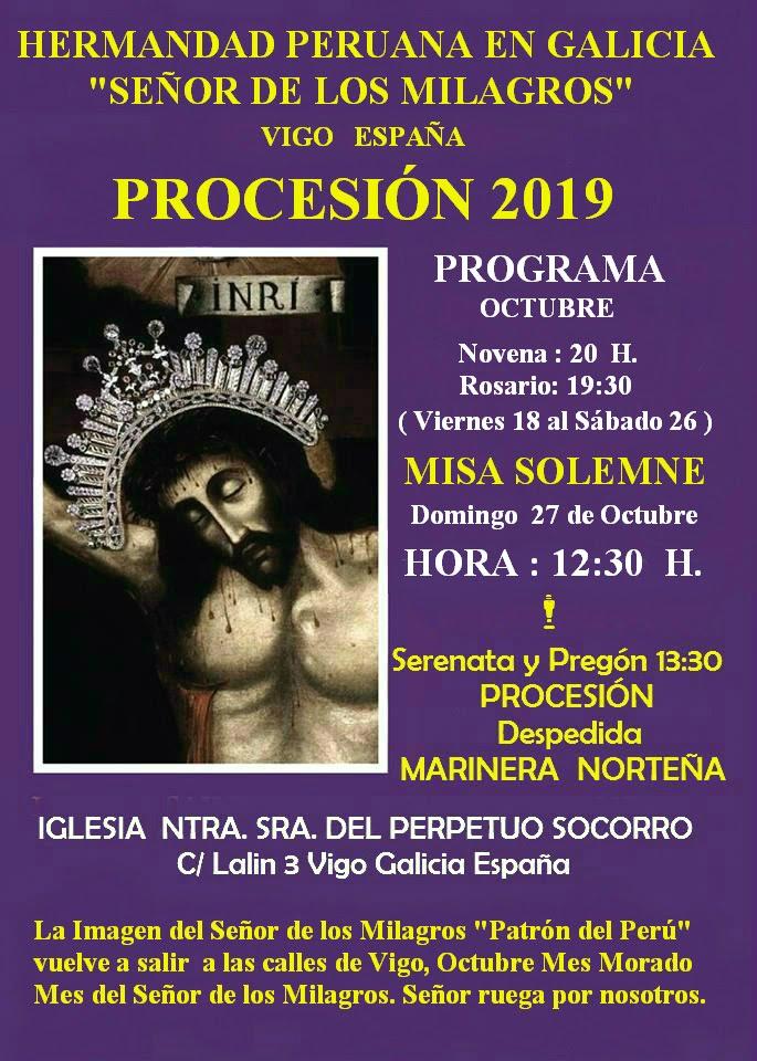 Procesión Octubre 2019