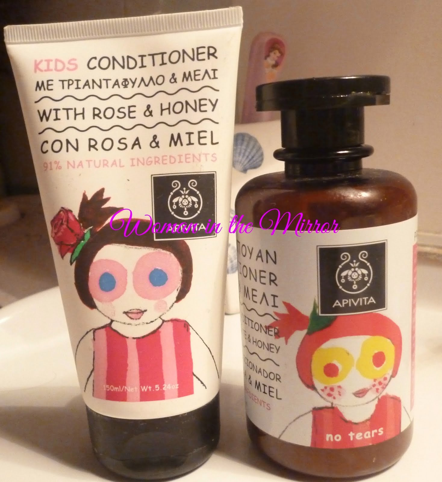 Kids Shampoo & Conditioner - Apivita