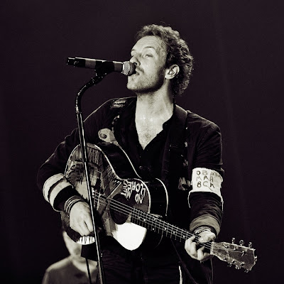 Chris Martin - Coldplay download free wallpapers for Apple iPad