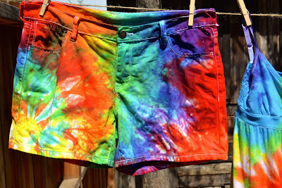 Tie Dyed Clothes