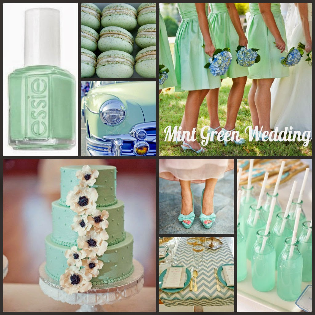 Alot Of Brides Chose The Mint Green As Main Color Scheme Or One Schemes For Their Weddings Today I Will Share You Some Fabulous