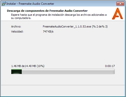 Descarga de Freemake Audio Converter
