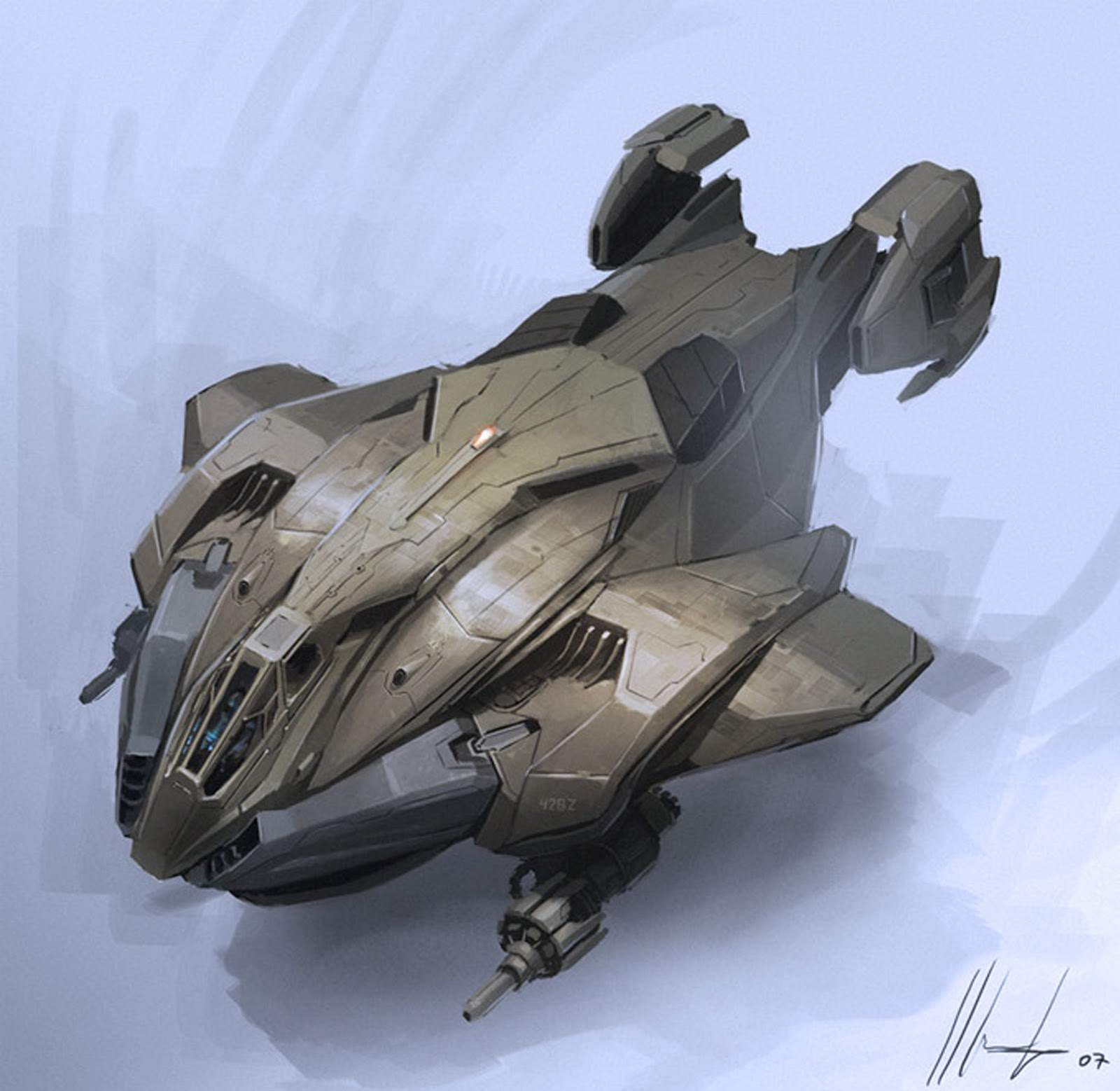 Dsng 39 s sci fi megaverse dropships spaceships steampunk for Conceptual designs