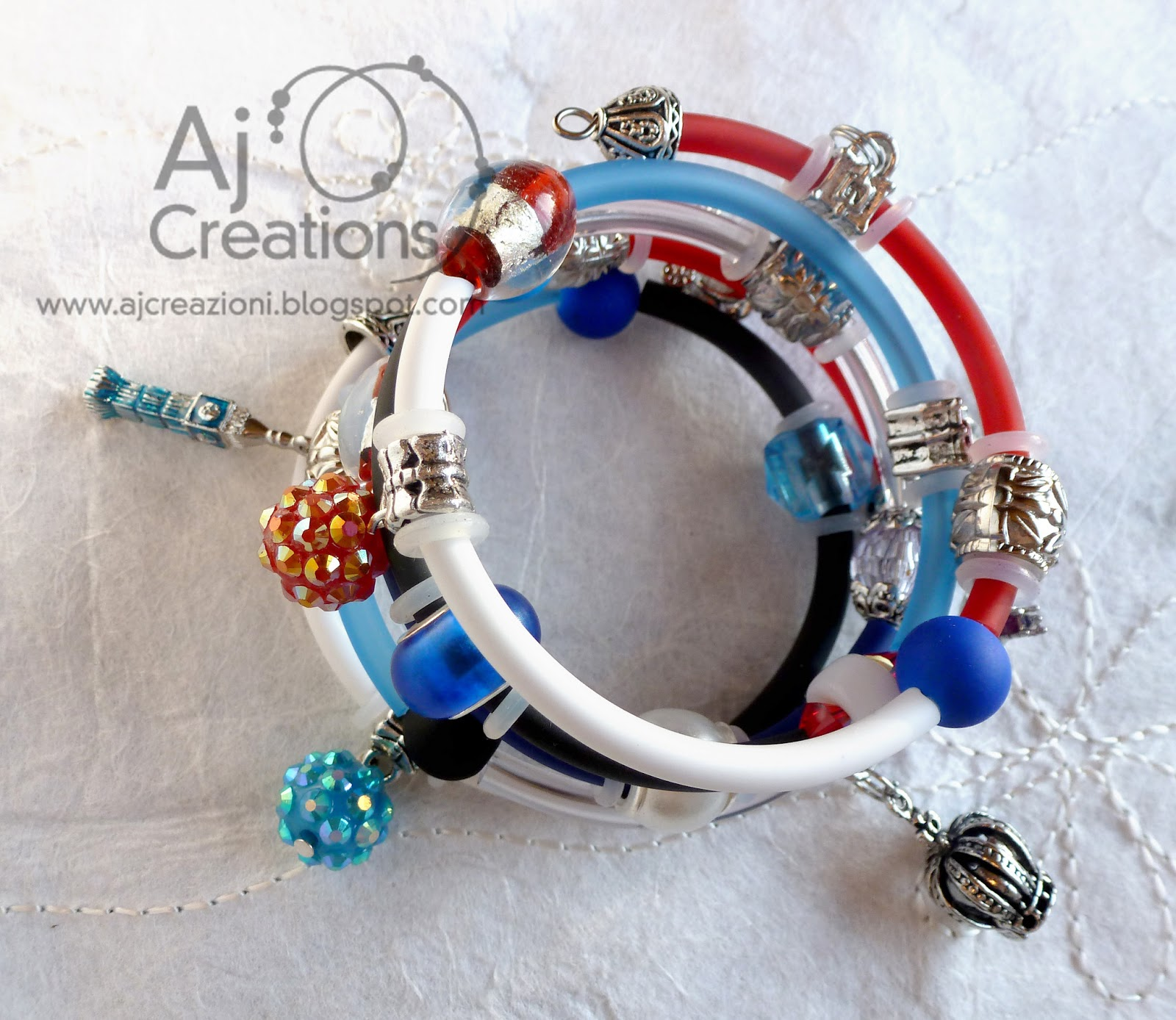 Aj creations bracciale london calling for Bracciale ben ten