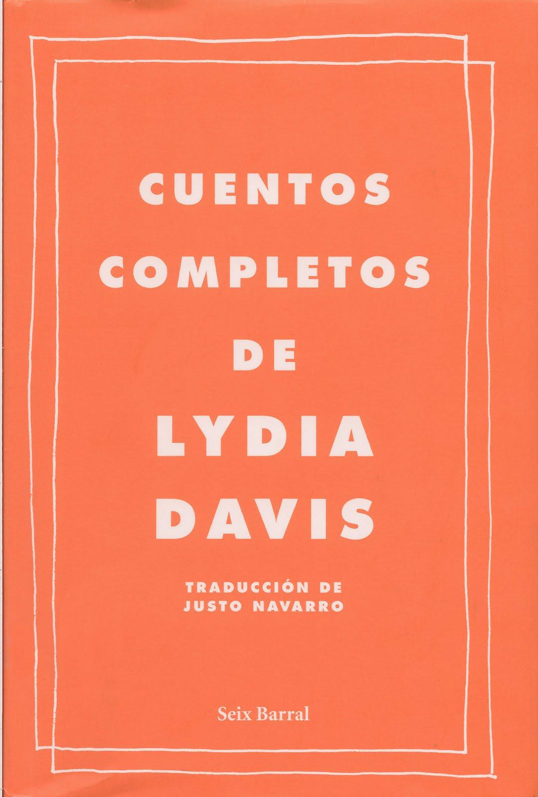 Cuentos completos de Lydia Davis