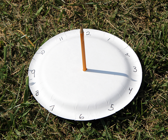 Paper Plate Sundial - We Made That & 6:5 Make A Shadow Clock - Lessons - Tes Teach