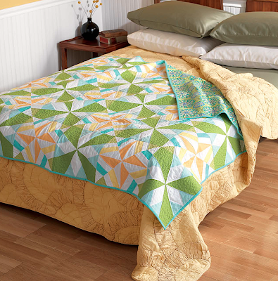 Stardust quilt from Vintage Quilt Revival