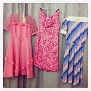 Marshmallow Electra vintageklänningar