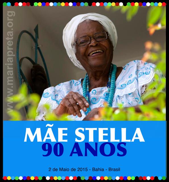#mariapreta. Mãe Stella de Oxóssi