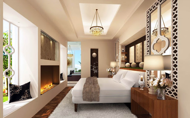 Master Bedroom Suite Ideas - Interior Living Room