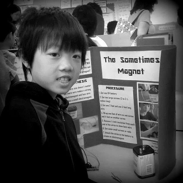 Science Day presenting The Sometimes Magnet project
