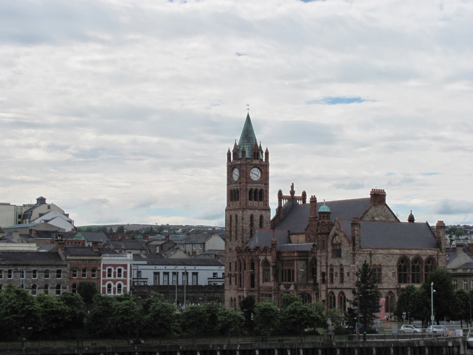 The Guildhall Derry, Northern Ireland