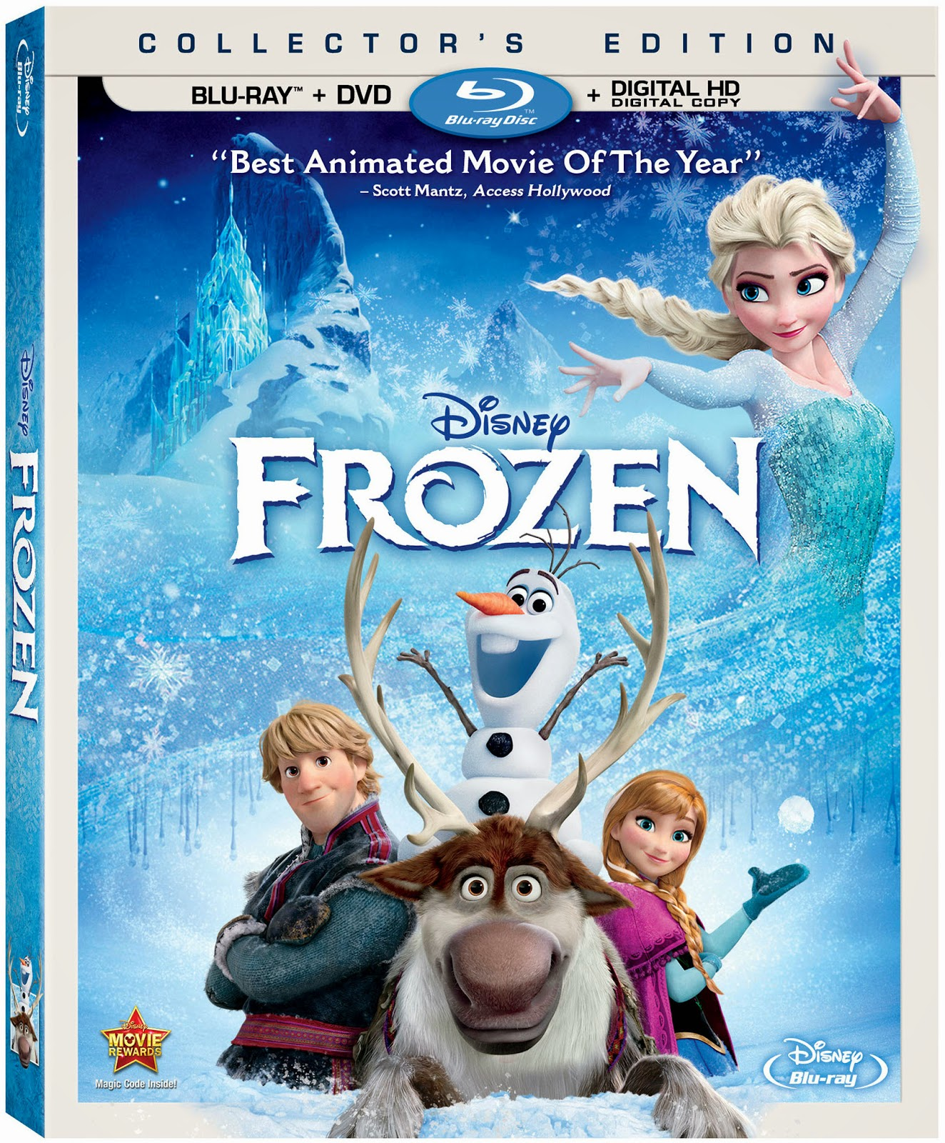 Frozen DVD Giveaway!