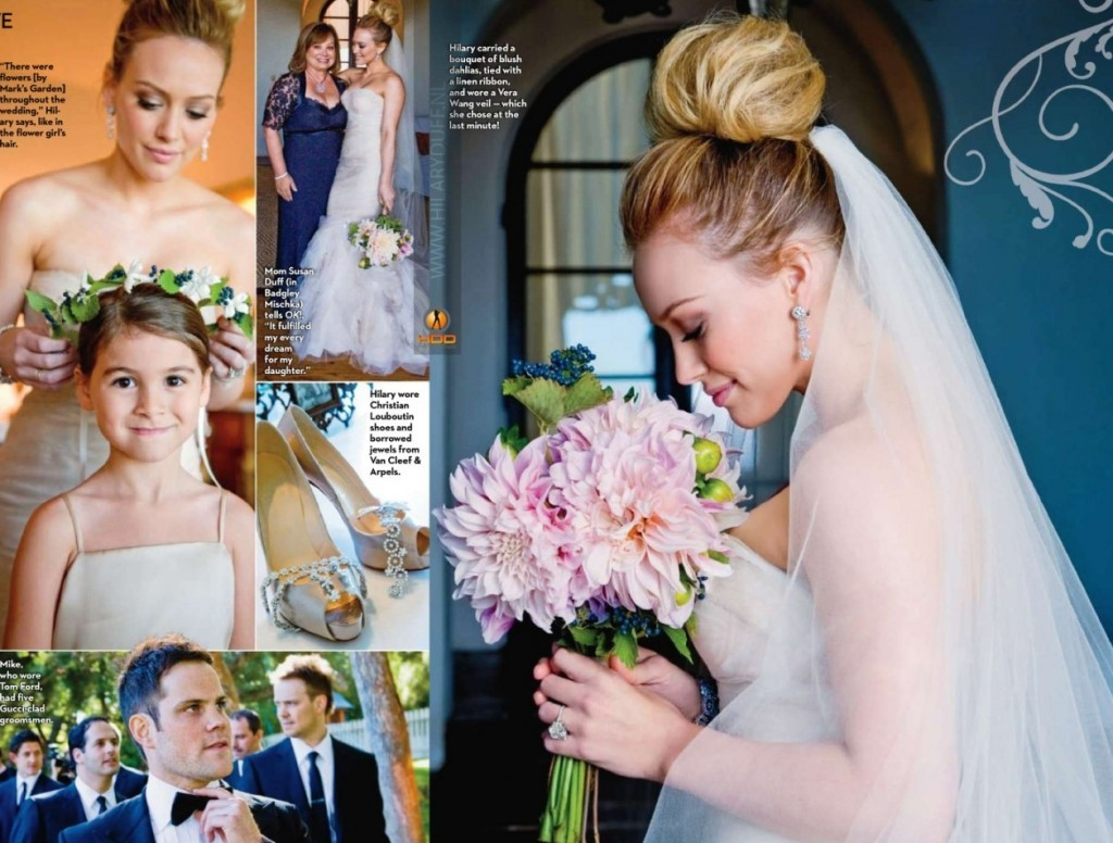 celebrity hairstyles hilary duff - Hilary Duff Wedding Ring