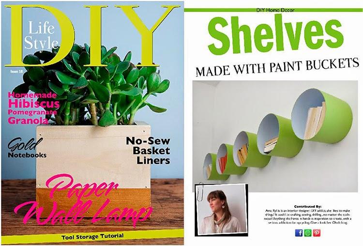 Featured on DIY lifestyle magazine
