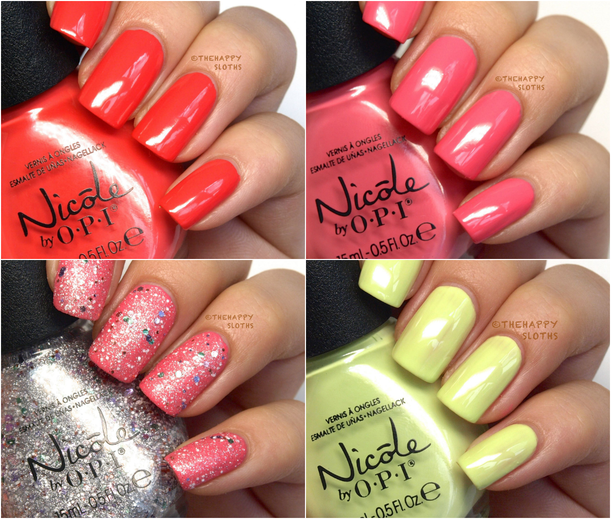 Nicole by OPI Seize the Day Summer 2014 Shaved Ice Review Swatch