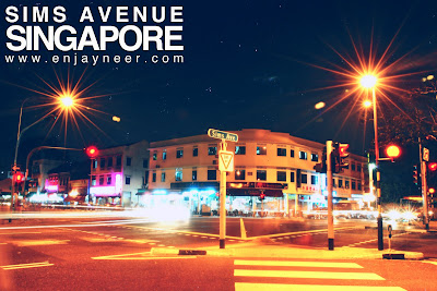 Sims Ave, Avenue, Singapore, Geylang, Night, Shoot, Nightscape