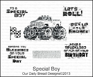 Our Daily Bread designs stamps, Special Boy,