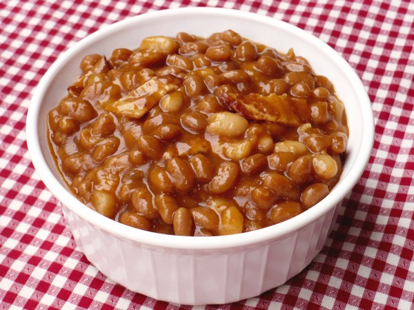 The Tall Girl Cooks Baked Beans