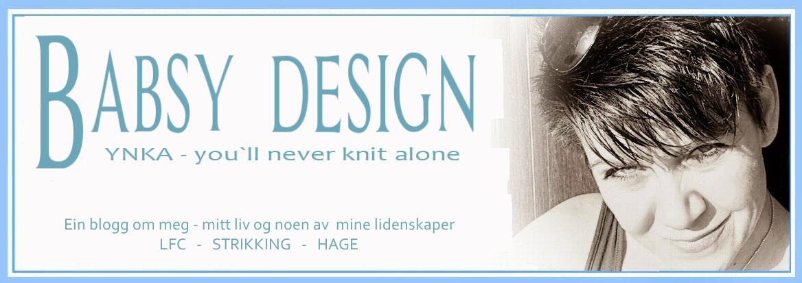Babsy design YNKA ( you`ll never knit alone )