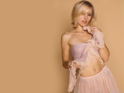 Kristen Bell Model HD Wallpaper-1600x1200-01