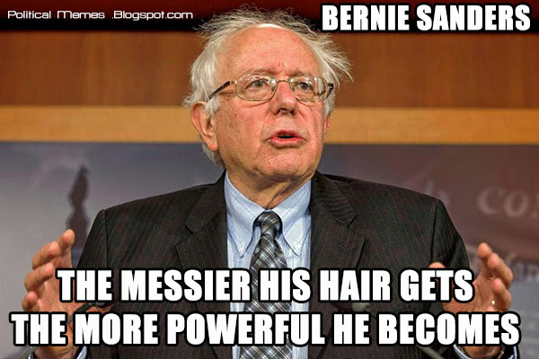 Bernie sanders hair meme video