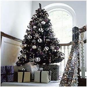 Mina harker ideas para decorar en navidad - Decorar arbol de navidad blanco ...