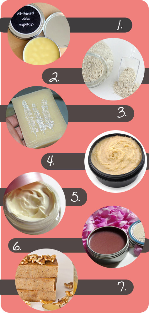 how to make homemade products for skin care