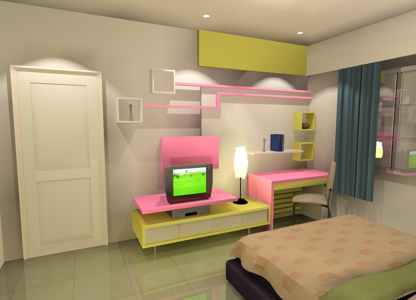 zuliyan interior kamar tidur anak
