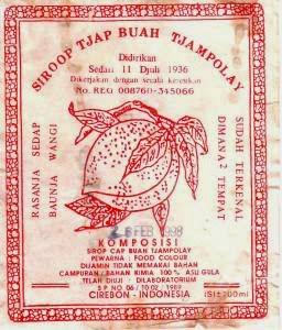 Sirup Tjampolay Minuman Khas Cirebon